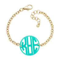 Acrylic Filigree Bracelet