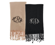 Black & Ivory scarves