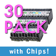 30 pack PGI-9 Black / Color (3) Sets Compatible