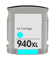 HP 940 XL Cyan Compatible Inkjet Cartridge (C4907AN)