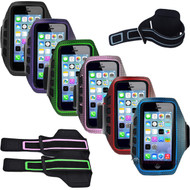Neoprene Armband Case for Apple iPhone 3 / 4 / 5 / 5c / 5s