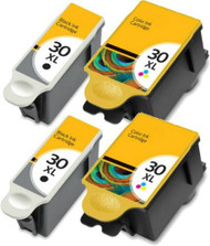 4 Pack Kodak 30XL Printer Ink Cartridges