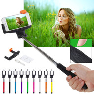 Selfie Stick with Built-In Shutter for Apple & Android
