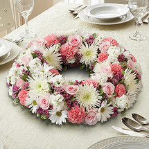 Pink & White Centerpiece