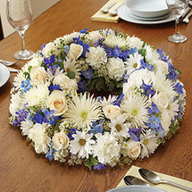 Blue & White Centerpiece