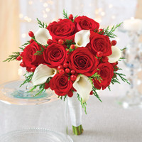 Holiday Bridesdmaid Bouquet