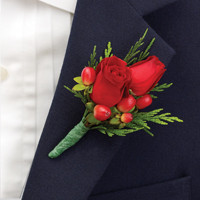 Holiday Ring Bearer Boutonniere