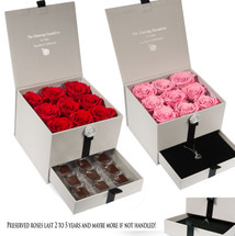 Evermore preserved rose gift box