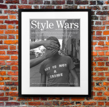 Style Wars Art Is Not A Crime poster