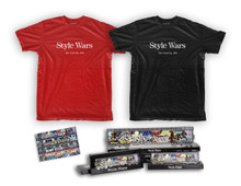 Style Wars T-shirt & Small Train Set