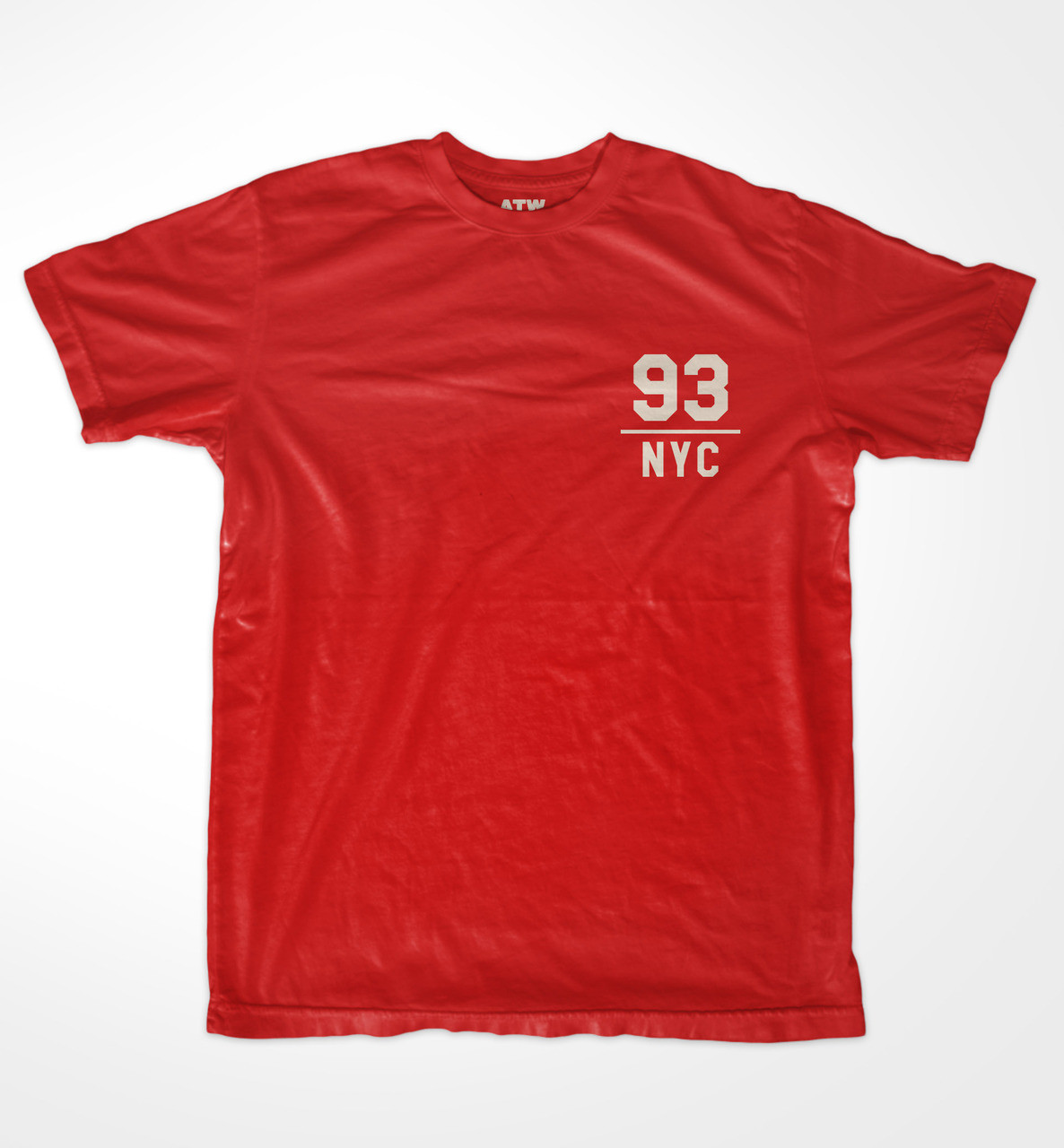f5ef84d79219 NYC 93 T-shirt - A THOUSAND WORDS