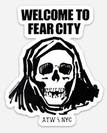 Fear City Sticker