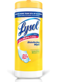 Lysol Disinfectant Wipes 12/case