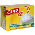 Glad Drawstring Bags 13Gal. 45/box