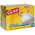 Glad Drawstring Bags 13Gal. 45/box