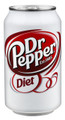 Dr. Pepper Cans DIET 24/case