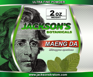 "Jackson's is proud to offer you the finest powder available on the market today.  Jackson's Ultra Fine Powder has the consistency of fine flour as opposed to our ""Capsule Ready"" powder which is what most other retailers sell.  This Ultra Fine Powder is typically purchased by those who like to dissolve their powder in a liquid.  This powder has more stem and vein removed which makes it more potent by weight when compared to crushed leaf or capsule ready powder."