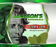 A nice blend of stem & vein powder in capsule form.  Each capsule weighs approximately 600mg.