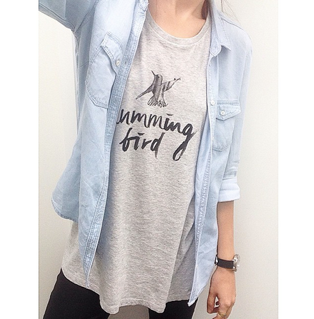 Humming Bird plus Denim Love