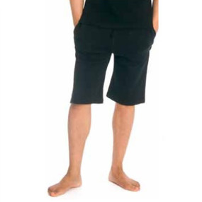 Organic Fairtrade Cotton, Sweat Shorts, black