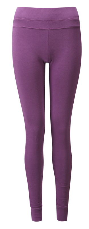 Heather Pink Leggings Long & Comfy