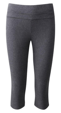Active 3/4 Cropped Leggings Grey
