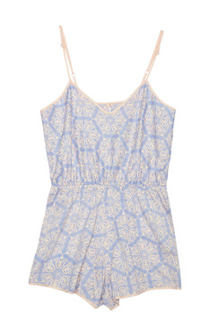 Symmetry Teddy Lavender | Organic Cotton Sleepwear
