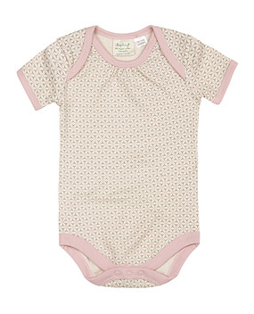 Cute short sleeved baby suit