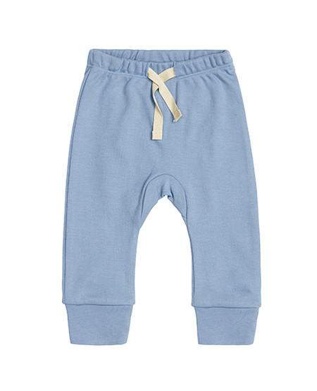 baby boy blue pants, front