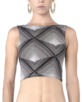 Pyramid Crop Top