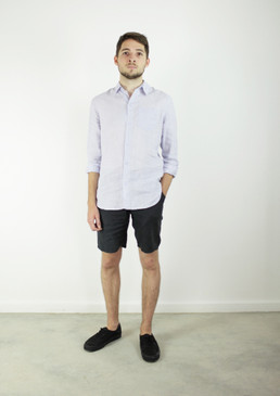Men's Tailored Linen Shorts | Lightweight | Smooth Hemp Linen