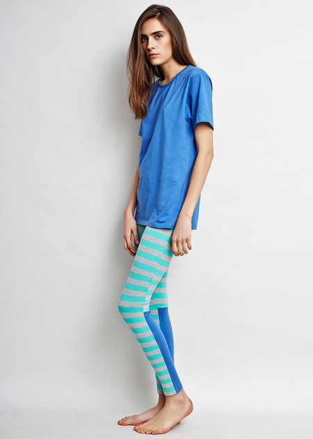 Ocean stripe Leggings