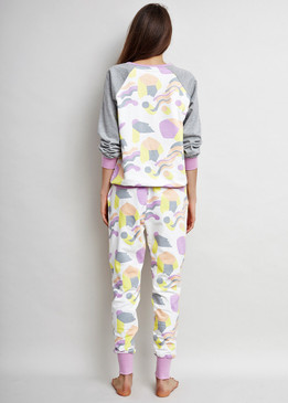 Terraform Print Loungewear Back