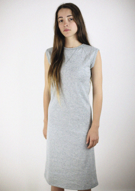 Light Grey Tank Dress