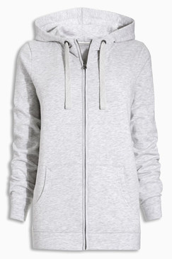 Women's Zip Hoodie with Kangaroo Pouch