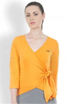 Manipura Wrap in Organic Cotton | Yoga Brights
