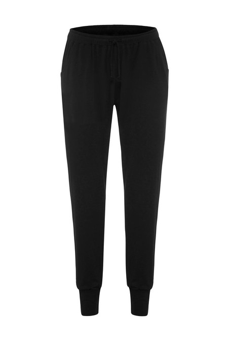 Black Organic Pants, Easy