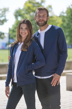 Unisex Jacket | Organic Cotton & Fairtrade | Navy Blue