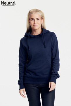 Women's  Hoodie | Organic Cotton & Fairtrade | Navy Blue