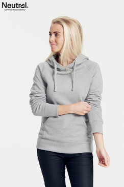 Women's  Hoodie | Organic Cotton & Fairtrade | Grey