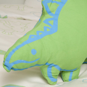 organic cotton satin, wool, Dino close