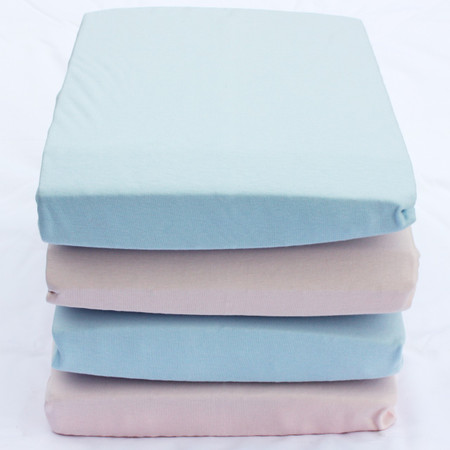 Organic Cotton Jersey Fitted Sheets Mixed