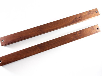 Sapele Pommele Magnetic Knife Bar
