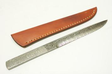 Kiyoshi Kato Kasumi Damascus Utility or Paper Knife 210mm