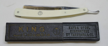 NOS King heart, Columbia Straight Razor