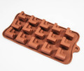 Tiered L-Shaped Silicone Chocolate Mould