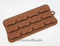 Bicycle Silicone Chocolate Mould (10g)