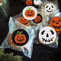 48 Halloween Round Stickers - 30mm Diameter