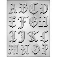 A-P Alphabet Chocolate Mould