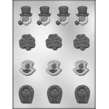 St Patrick Day Assortment Chocolate Mould